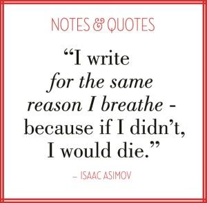 Asimov Writing