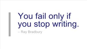 Bradbury Writing