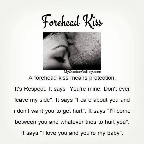 Forehead Kiss 3