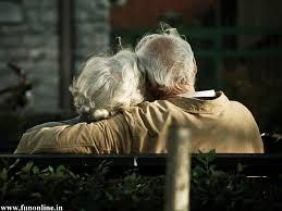 older hug