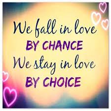 Chance and Choice