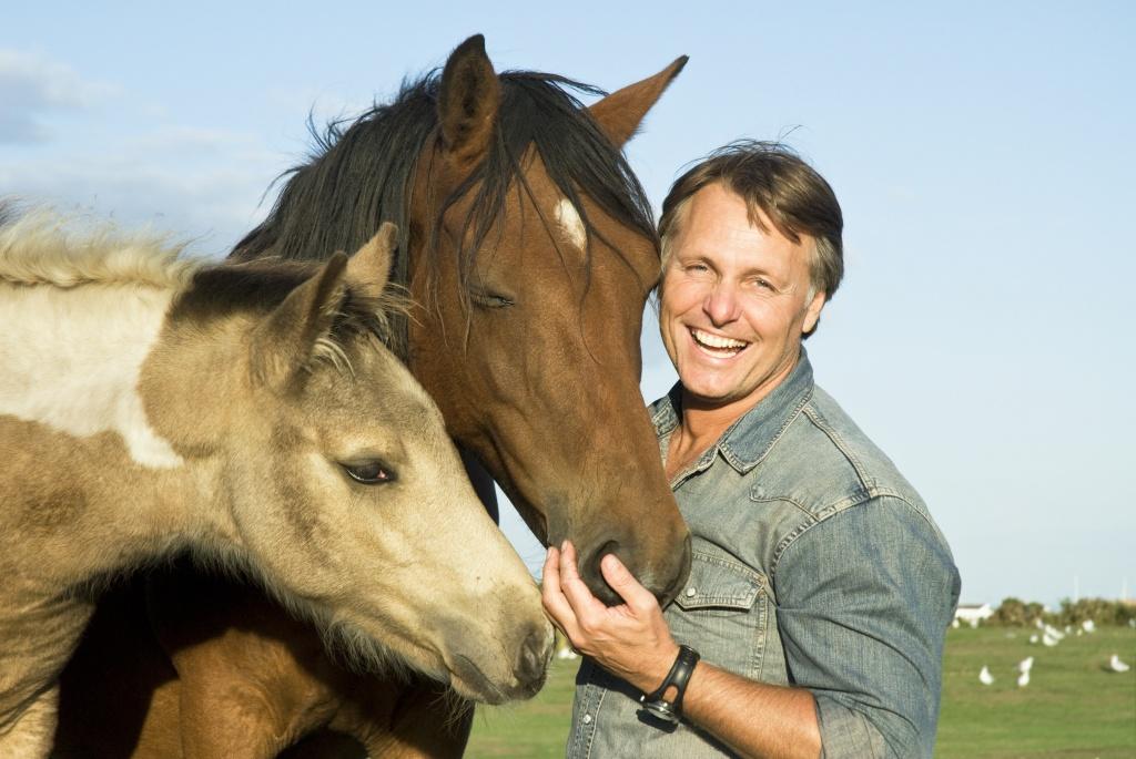 Rex Ranger with horses