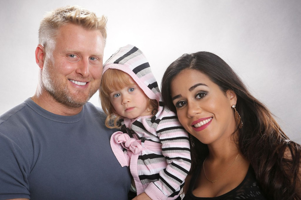 Love in the First Degree - Ryan & Laura with older Chloe