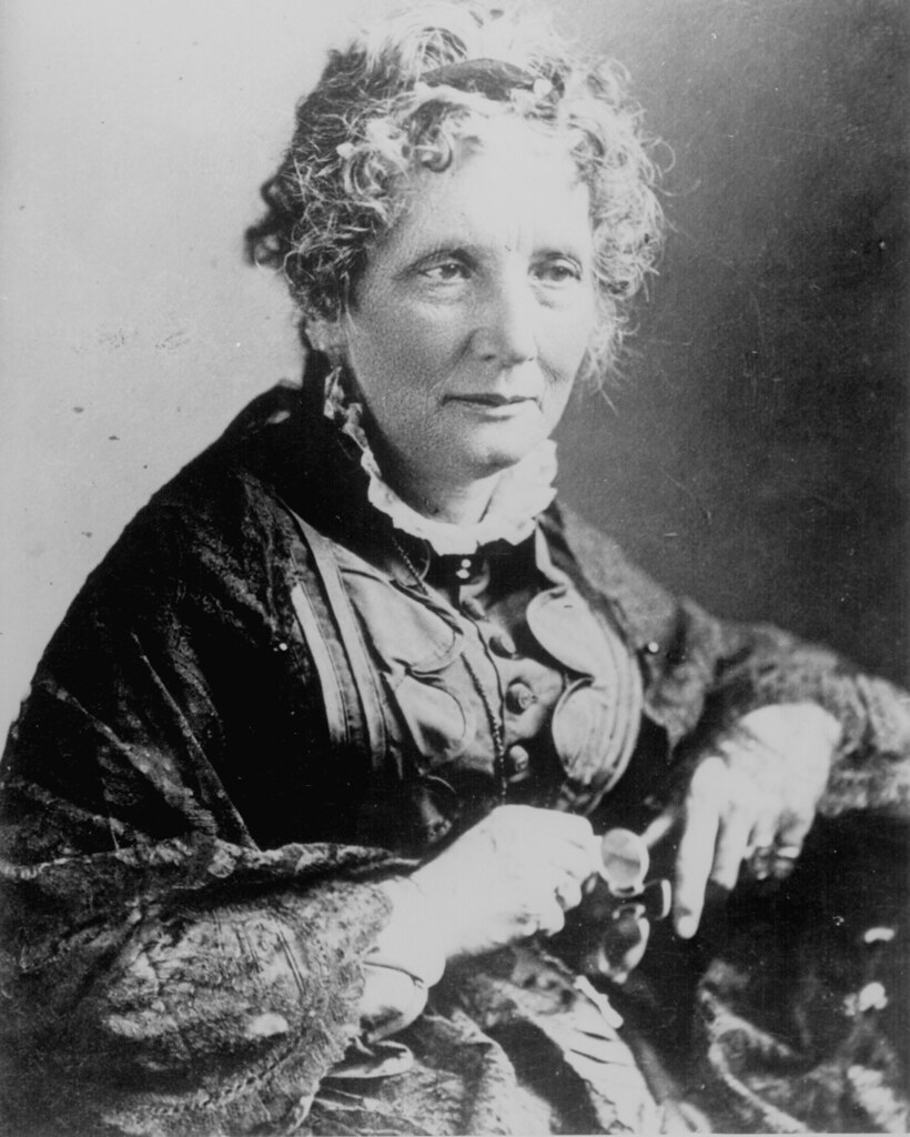 """""""Harriet Beecher Stowe"""" by Marion Doss is licensed with CC BY-SA 2.0. To view a copy of this license, visit https://creativecommons.org/licenses/by-sa/2.0/"""